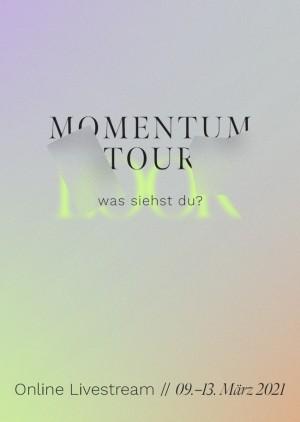 "MOMENTUM COLLEGE TOUR 2021 - ""LOOK - Was siehst du?"""