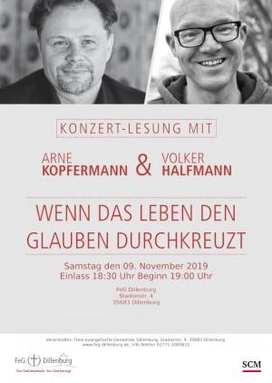 Konzert-Lesung mit ARNE KOPFERMANN & VOLKER HALFMANN
