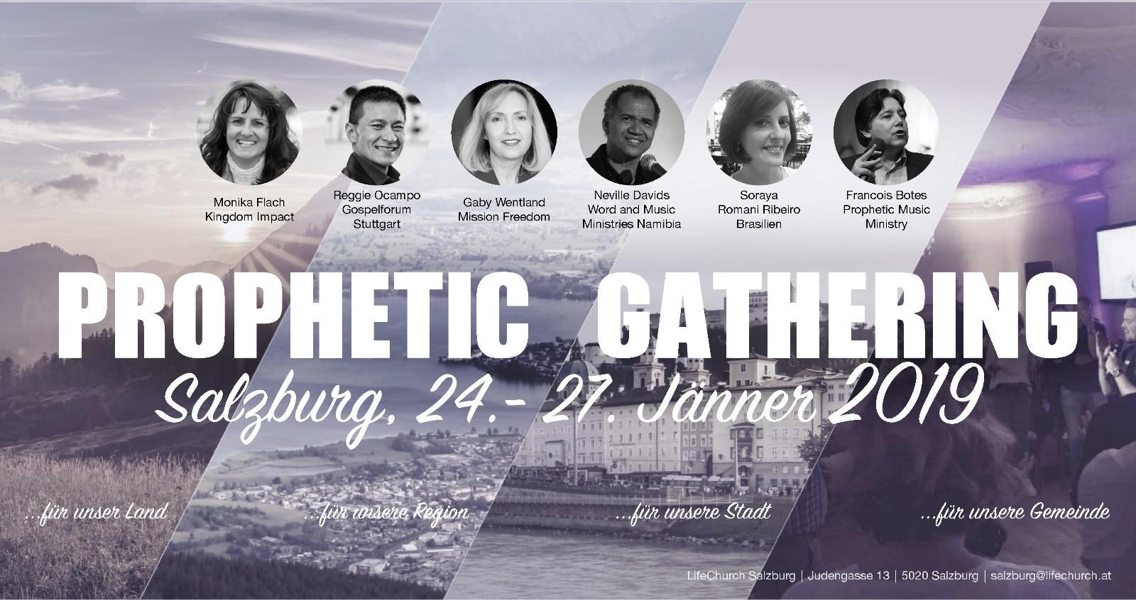 Prophetic Gathering 2019 Salzburg