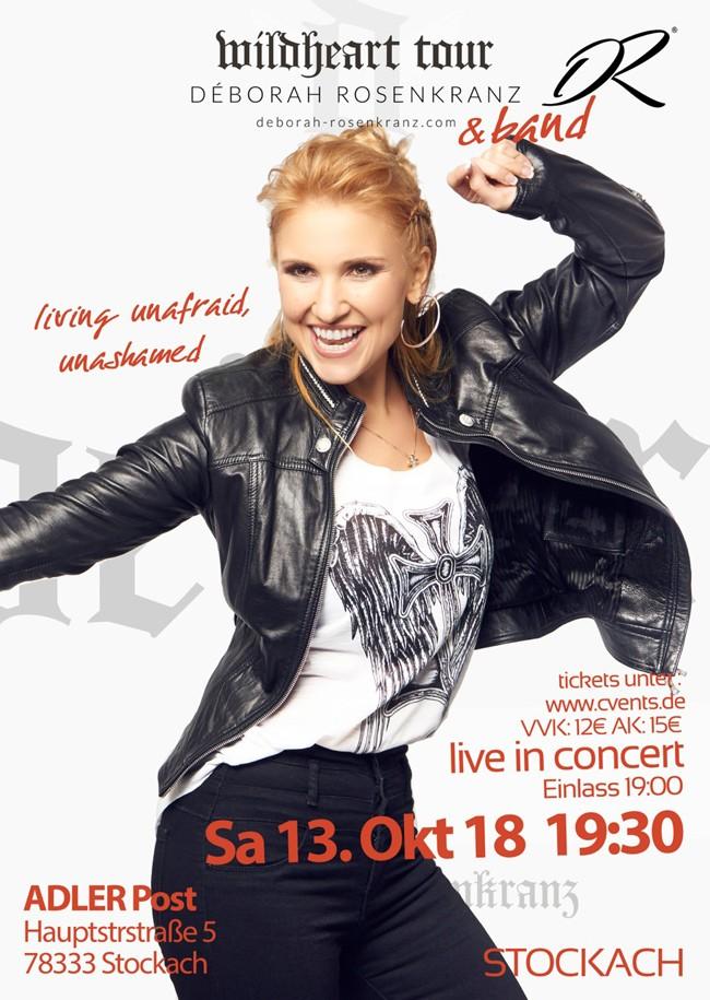 """Déborah Rosenkranz """"Live in Concert"""""""