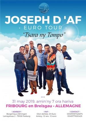 Joseph d'Af Euro Tour 2019