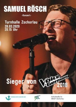 Konzert Samuel Rösch Erzgebirge