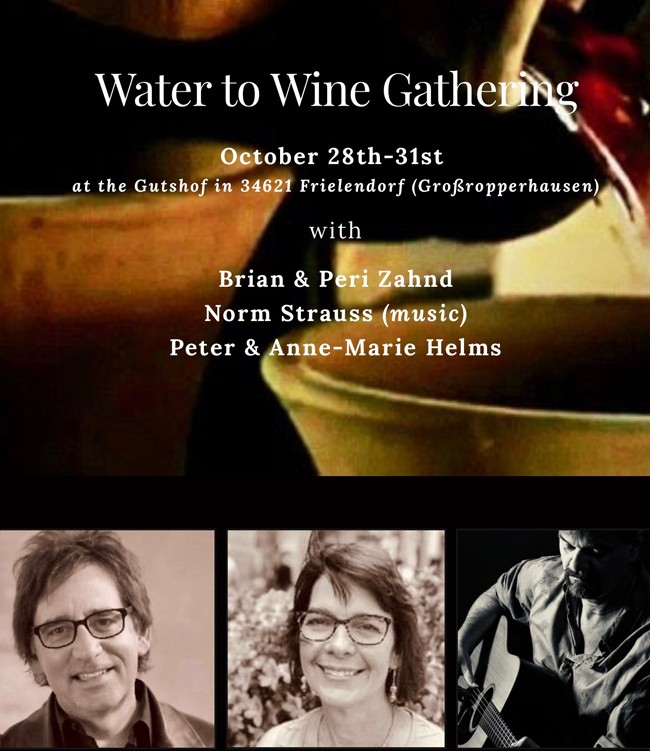 Water to Wine Gathering