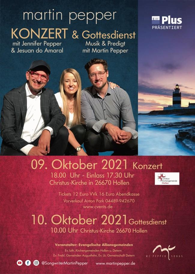 Martin Pepper Trio Live in Hollen