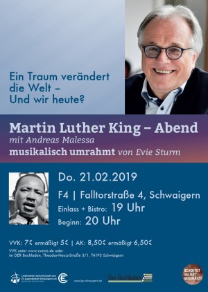 Martin Luther King - Abend