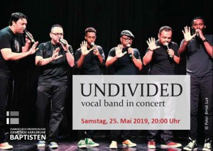UNDIVIDED vocal band