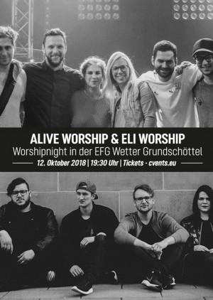 Alive Worship & ELI Worship - Worshipnight in Wetter - Grundschöttel (Ruhr)