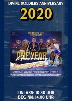 Divine Soldiers Anniversary 2020