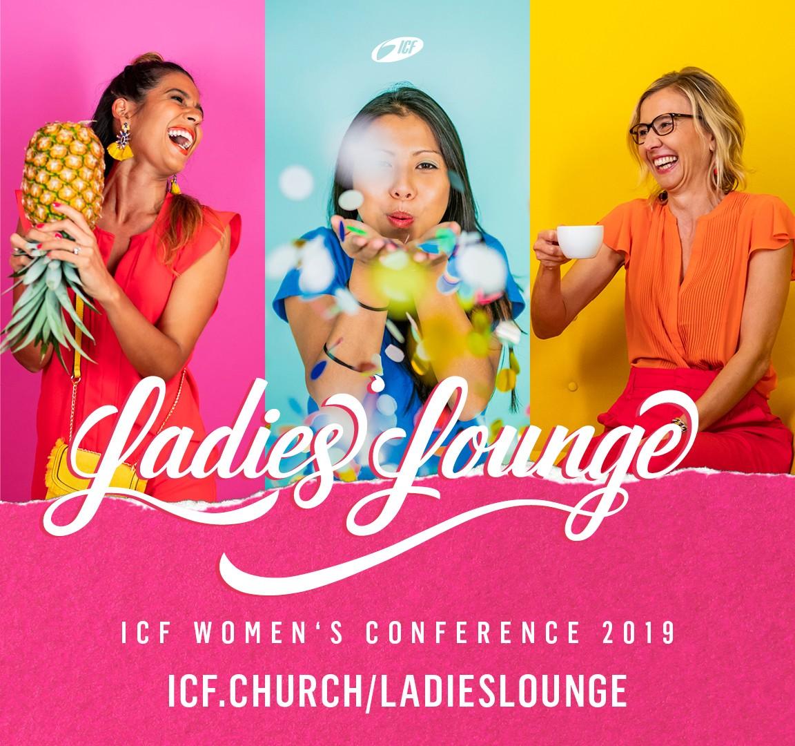 ICF Ladies Lounge 2019 - JOY! in Zürich