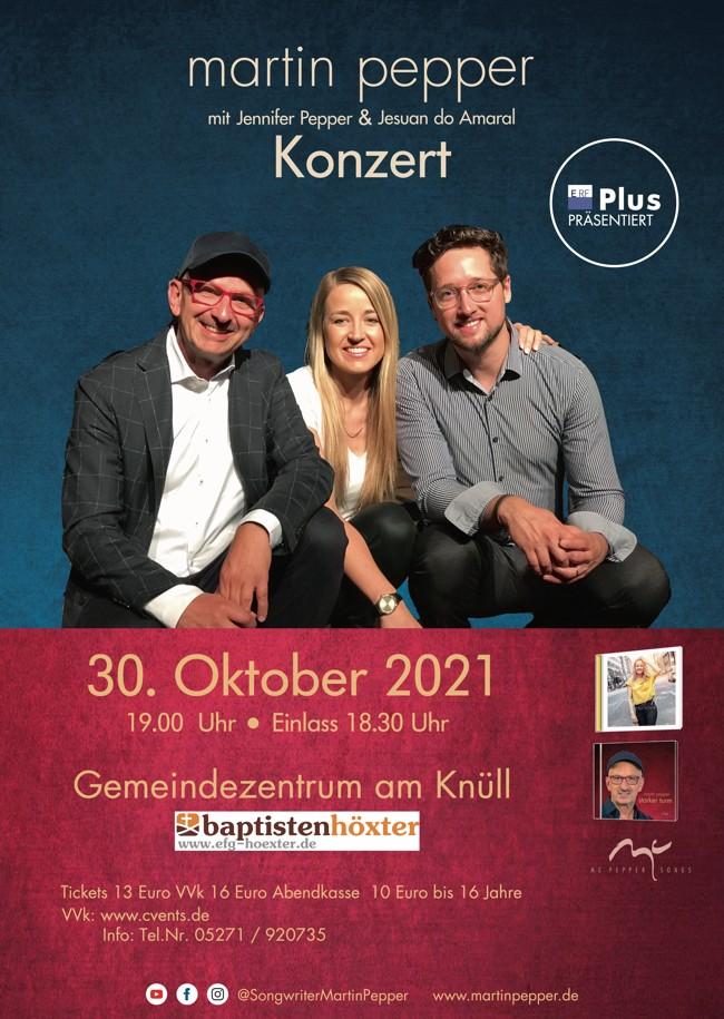 Martin Pepper Trio Live in Höxter