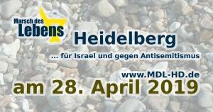 Marsch des Lebens Heidelberg