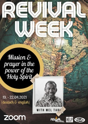 Online - Revival Week with Mel Tari
