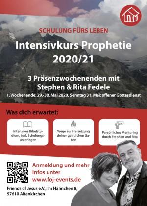 Intensivkurs Prophetie 2020/21