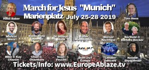 "March for Jesus ""Muenchen"" 2019"