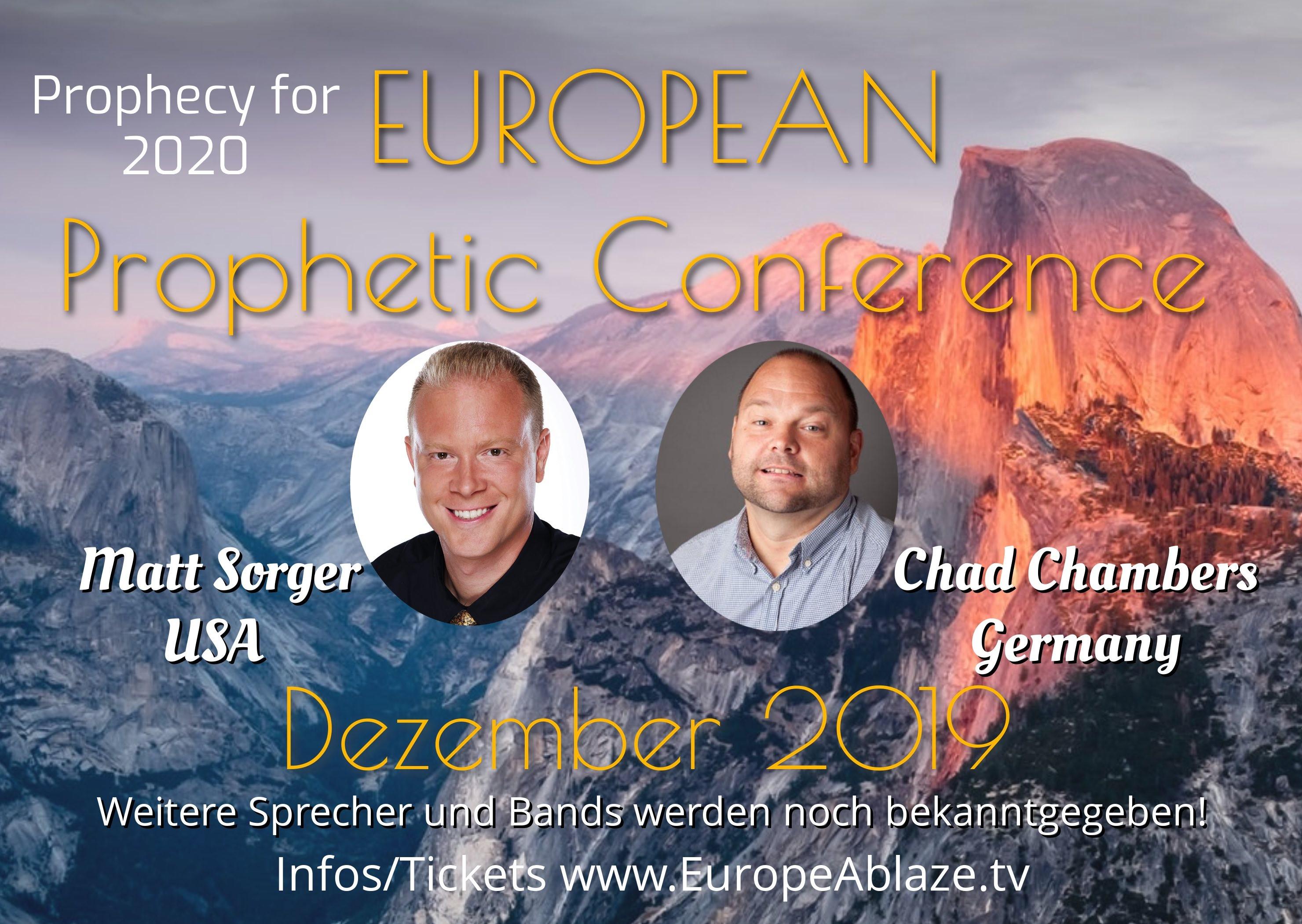 European Prophetic Conference 2020!