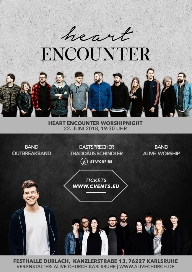 Heart Encounter - Worshipnight mit der Outbreakband