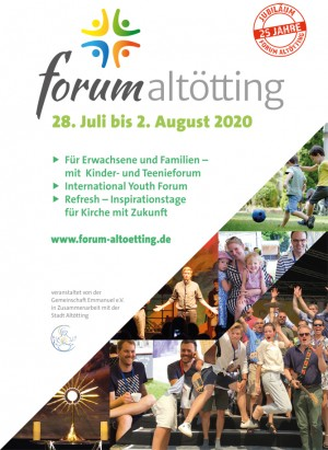 25. International Forum Altötting