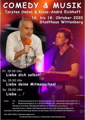 Comedy & Musik + Wittenberg Musik Vielfalt