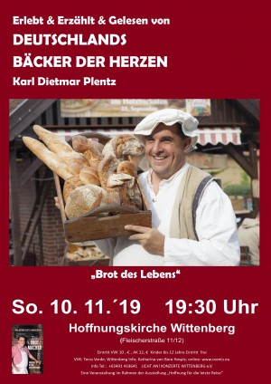 Erlebt & Erzählt & Gelesen von DEUTSCHLANDS BÄCKER DER HERZEN Karl Dietmar Plentz