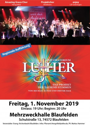 LUTHER Pop-Oratorium