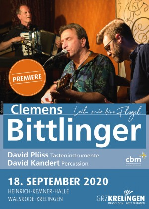 Konzert mit Clemens Bittlinger