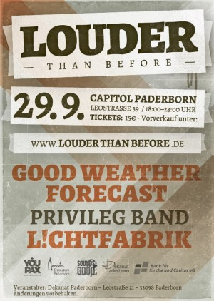 LOUDER THAN BEFORE Festival