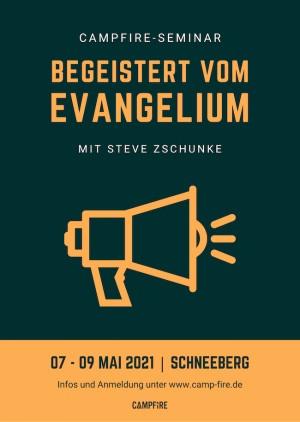 """Seminar """"Begeistert vom Evangelium"""""""