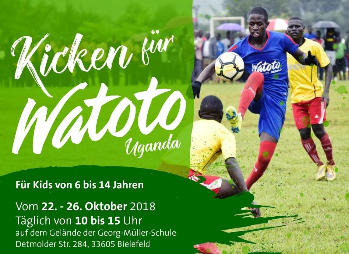 Kicken für Watoto Uganda