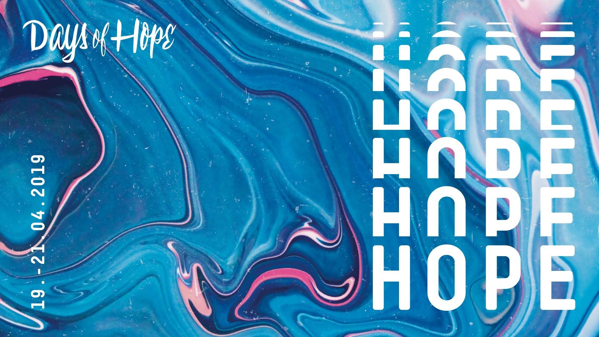 Days of Hope 2019 – Brunch Inkl. Sitzplatzreservierung