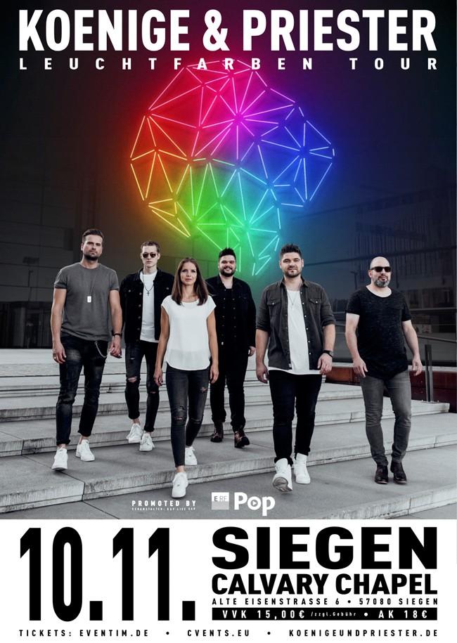 Leuchtfarben Tour Siegen