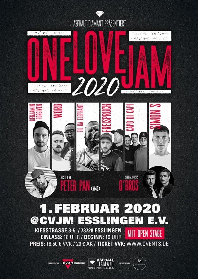 ONE LOVE JAM 2020