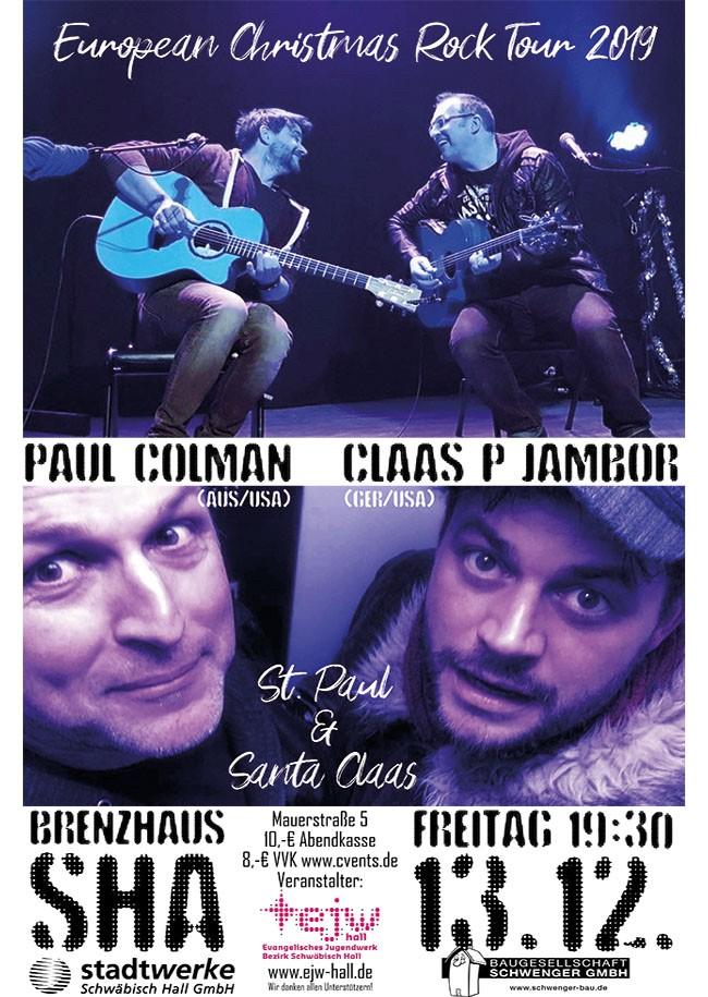 Paul Colman & Claas P. Jambor