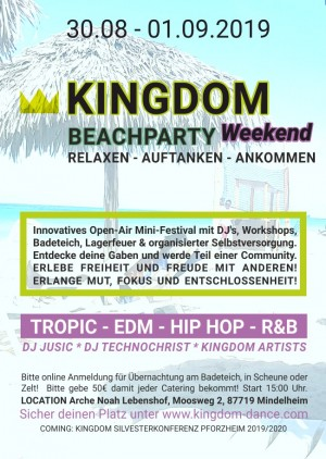 KINGDOM Beach Party