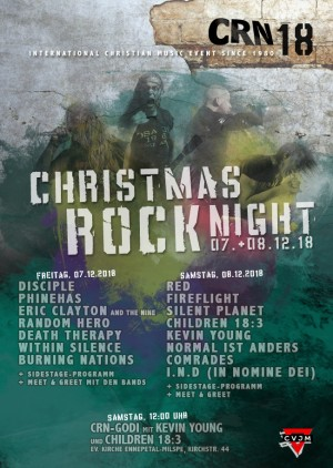 Christmas Rock Night 2018