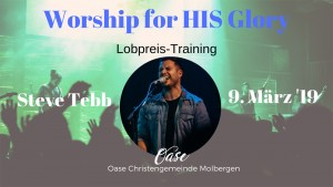 Worship for HIS Glory