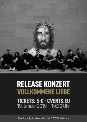 Vollkommene Liebe - Release Konzert