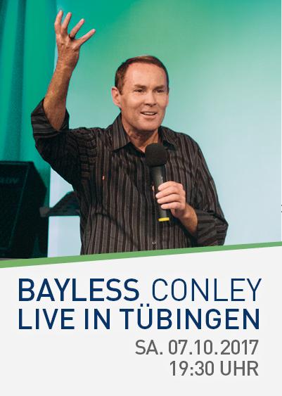 Bayless Conley in Tübingen