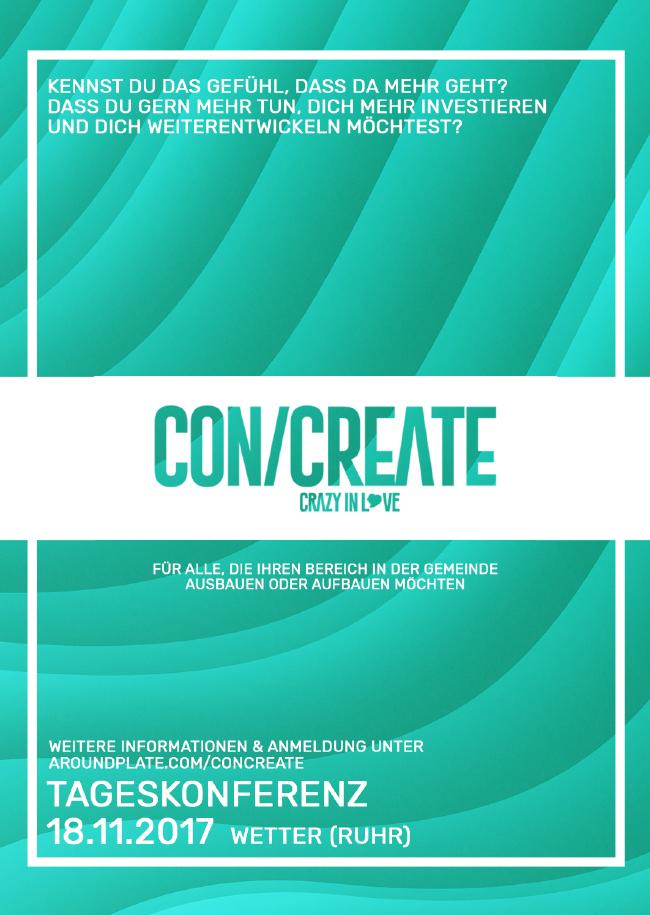 CON/CREATE Tageskonferenz