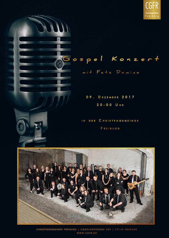 Gospelkonzert mit Fetz Domino