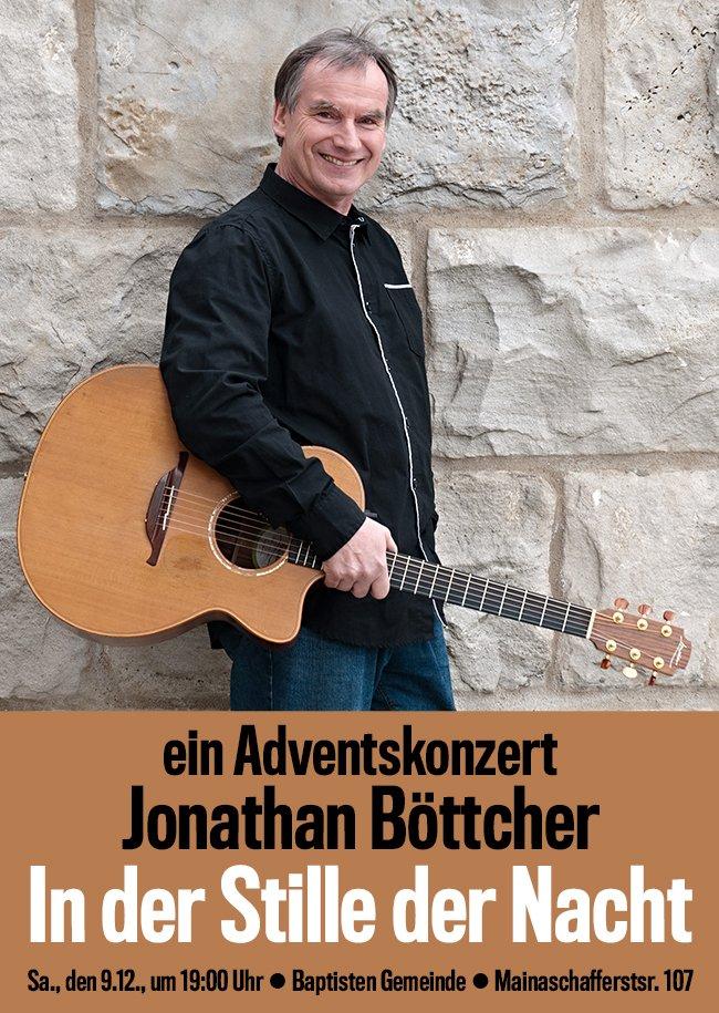 Adventskonzert mit Jonathan Böttcher