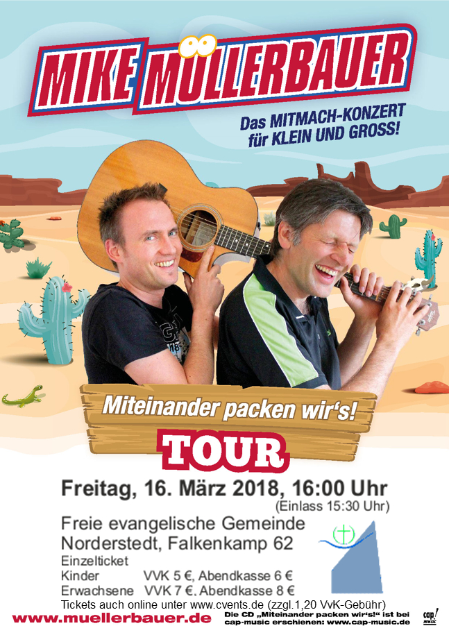 Mike Müllerbauer - Miteinander packen wir´s!