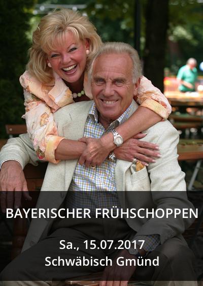 Bayerischer Frühschoppen mit Margot & Günter Steinberg