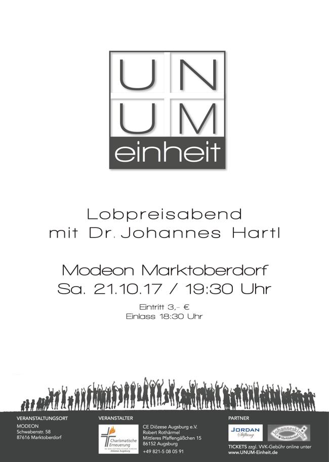 UNUM - EINHEIT - Lobpreisabend mit Dr. Johannes Hartl