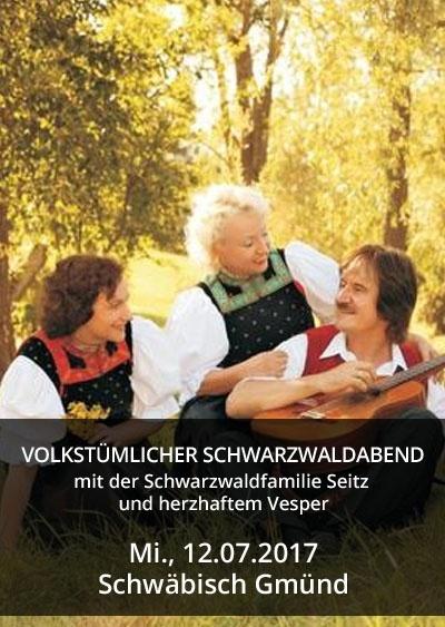 Volkstümlicher Schwarzwaldabend